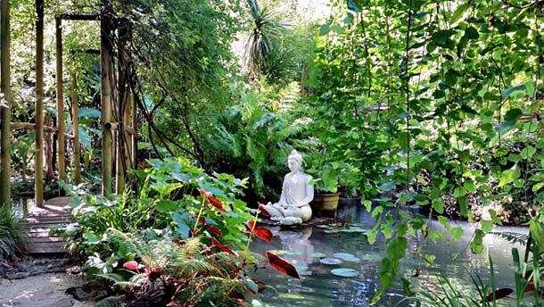 Ботанический сад в Гардоне-Ривьера