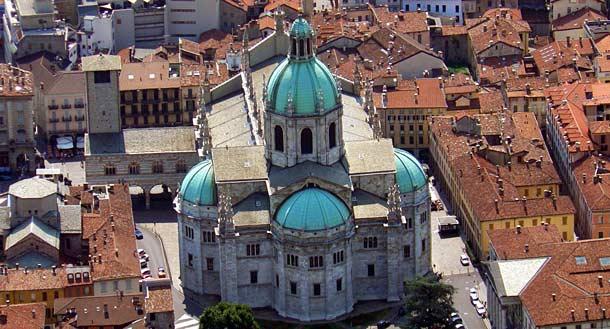 Кафедральный собор в городе Комо