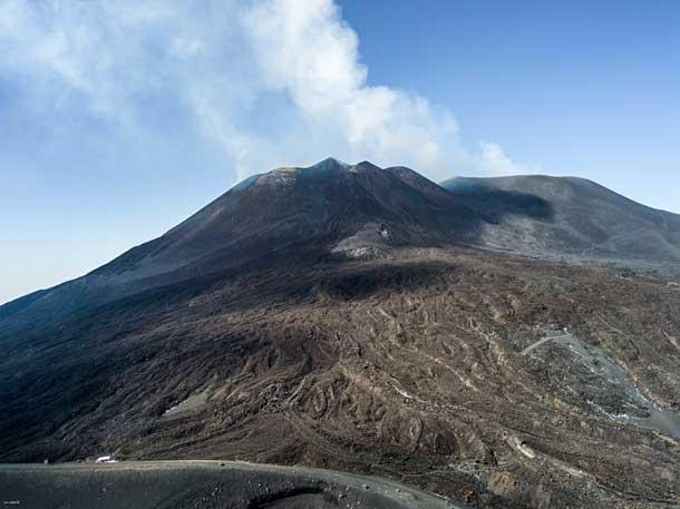 Сицилийский вулкан Этна