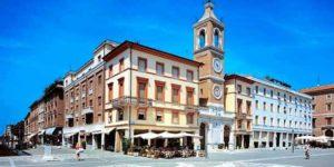 Здание Palacco Brioli в Римини (Италия)