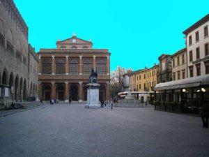 Площадь в Римини - Кавур