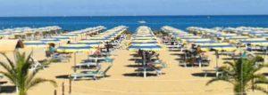 Пляж Ривабелла в Италии