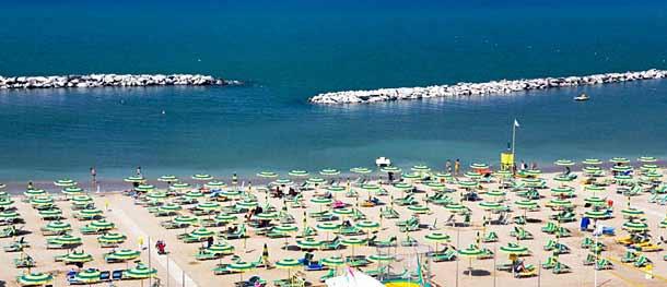 Пляж Визербелла (Римини)