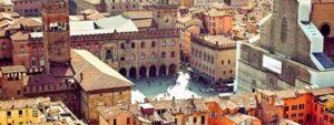 Красивый город Болония