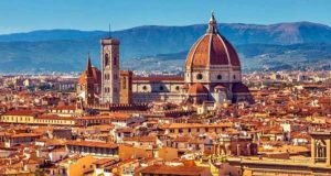 Город в Италии - Флоренция