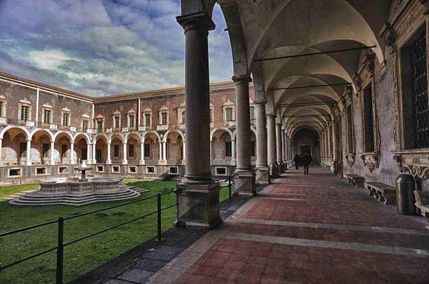 Бенедиктинский монастырь в Катании