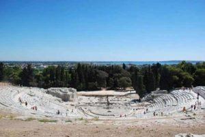 Руины древней Сиракузы