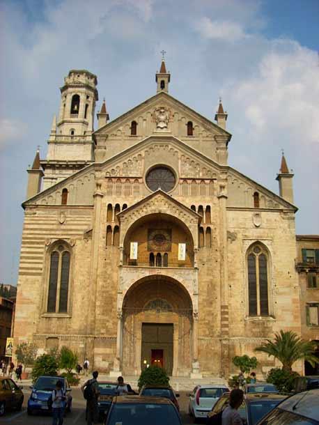 Кафедральный собор Дуомо в Вероне