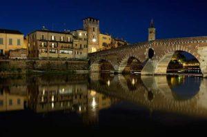 Самый старый мост в Вероне - Понте Пьетра