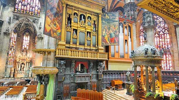 Орган в соборе Дуомо (Милан)