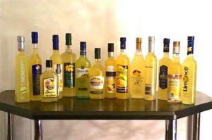Алкогольный напиток Лимончелло