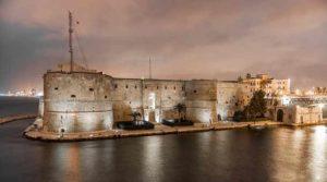 Арагонский замок в старом городе Таранто