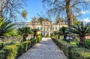 Ботанический сад в городе ПИза (Италия)