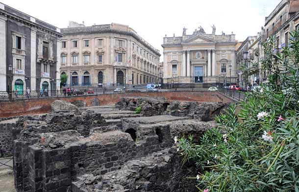 Римский амфитеатр (Катания)