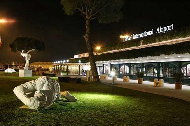 Аэропорт в Пизе в честь Галилео Галилея