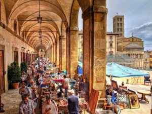 Маленький городок Ареццо (Тоскана)