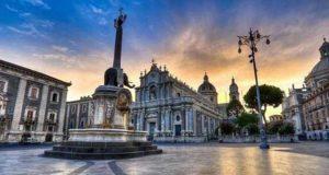 Город в Италии - Катания