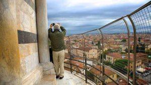 Смотровая площадка на Пизанской башне (Италия)
