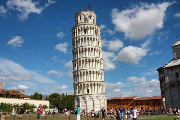 история строительства Пизанской башни