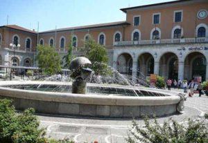 Железнодорожный вокзал в городе Пиза