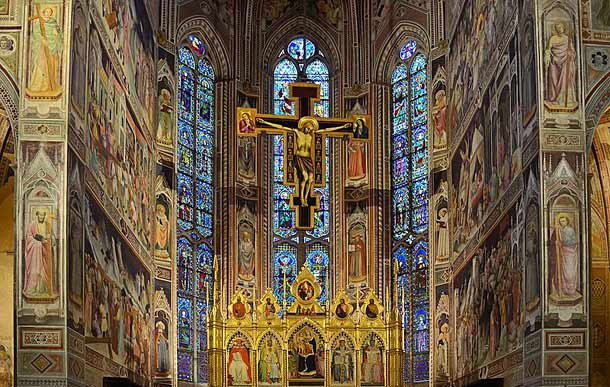 Церковь Санта Кроче во Флоренции (Италия)