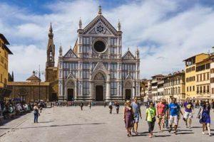 Внешний вид Базилики Санта Кроче во Флоренции