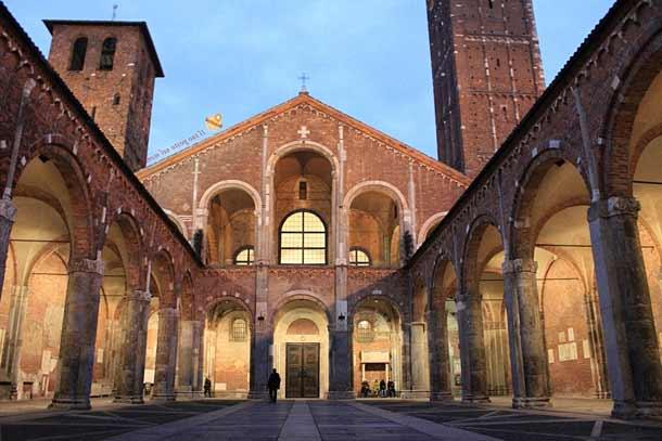 Базилика Святого Амвросия (Ломбаргия)