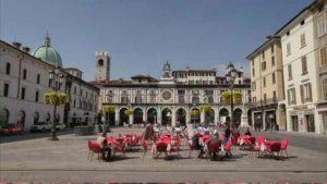 Город Брешия в Италии