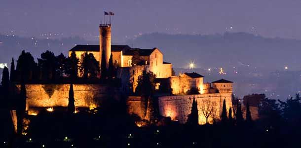 Замок (кастелло) Брешиа (Ломбардия))