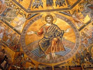 Образ Иисуса Христа со следами Распятия