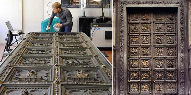 Южные ворота баптистерий Сан Джованни (Флоренция)