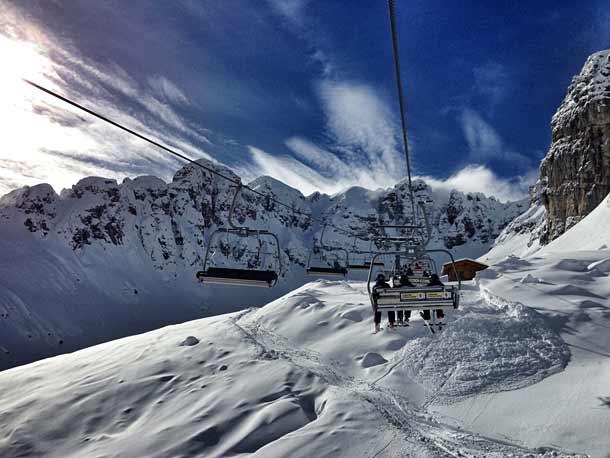 Ливиньо горнолыжный курорт