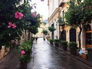 Улочки города Салерно (Италия)
