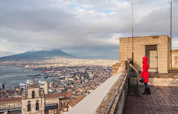 Какая погода в Неаполе зимой