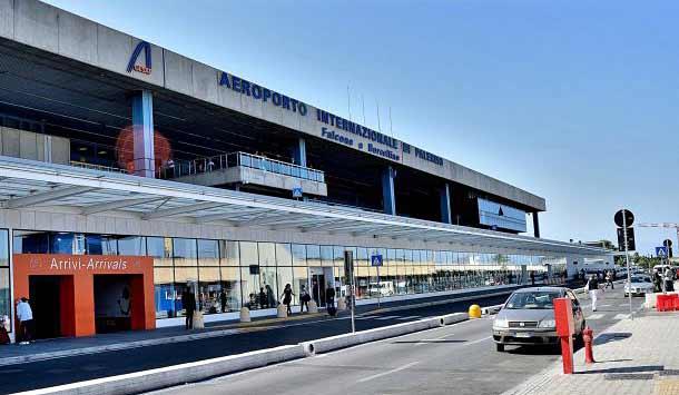 Аэропорт Фальконе Борселлино (Сицилия)