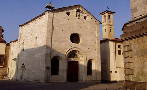 Баптистерий (крестильня) в Варезе