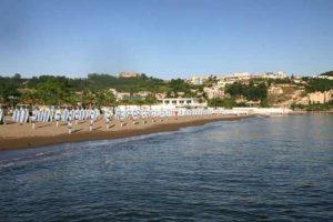 Пляж в Неаполе - Поццуоли