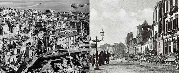 Землятрясение в Мессине 1908