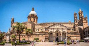 Кафедральный собор в городе Палермо