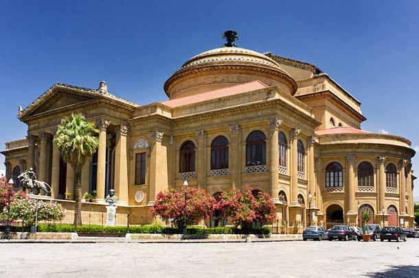 Театр Массимо в Палермо (Италия)