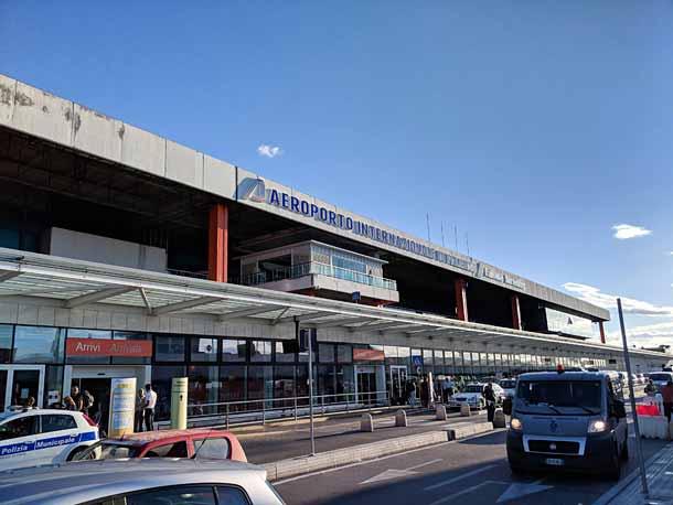 аэропорт Фальконе Борселлино