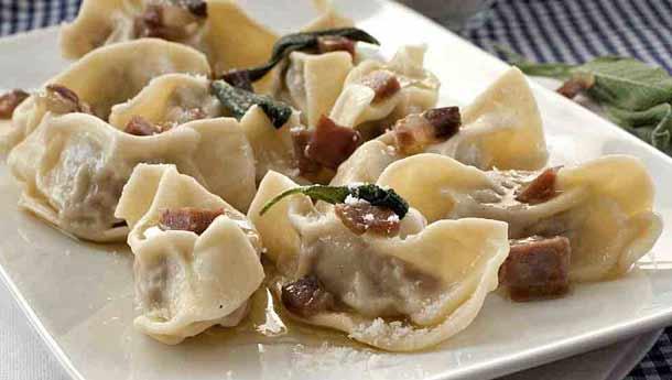Национальное блюдо Бергамо - Casoncelli della bergamasca