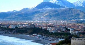 Курортный город Скалея в Калабрии (Италия)