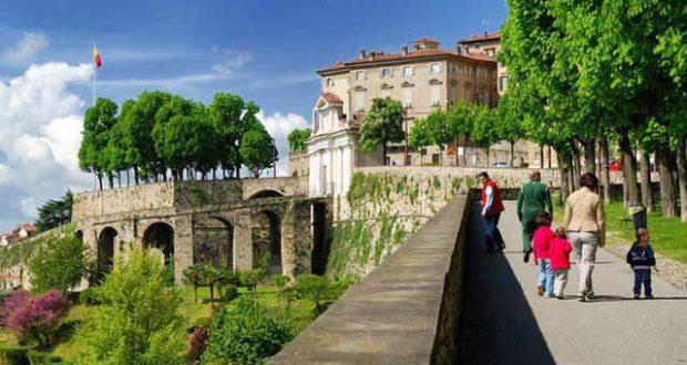 Прогулки по улицам Бергамо