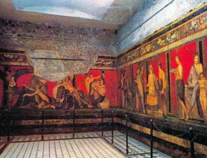 Сохранившийся Дом Мистерий (Помпеи)