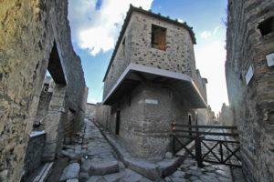Древний публичный дом Лупанарий в Помпеи