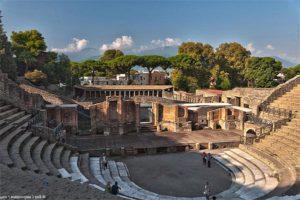 Древний Амфитеатр в Помпеи