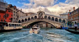 Мост Rialto в Венеции
