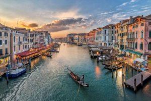 Налог на посещения исторического центра Венеции