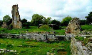 Развалины Антике Мура в Lido di Jesolo